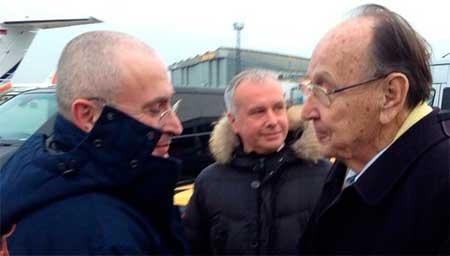 """Первое фото Ходорковского на свободе: """" Я постоянно думаю о тех, кто еще находится в тюрьме"""" - Цензор.НЕТ 8686"""