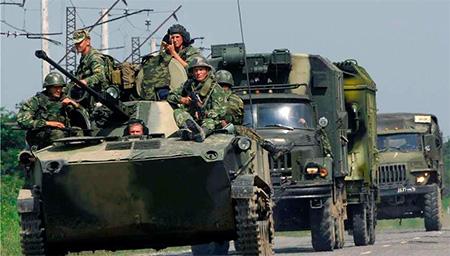 """Украинская армия уничтожила колонну российской бронетехники в секторе """"Б"""" - танки прибыли из Чечни - Цензор.НЕТ 5354"""